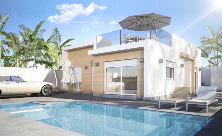 NC0298PC : Красивая вилла новой постройки в Сан-Педро-дель-Пинатар