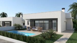 Продажа виллы в провинции Costa Calida, Испания: 3 спальни, 110 м2, № NC2790OR – фото 2