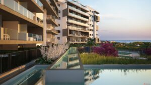 Продажа квартиры в провинции Costa Blanca South, Испания: 2 спальни, 89.70 м2, № NC2211UC – фото 1