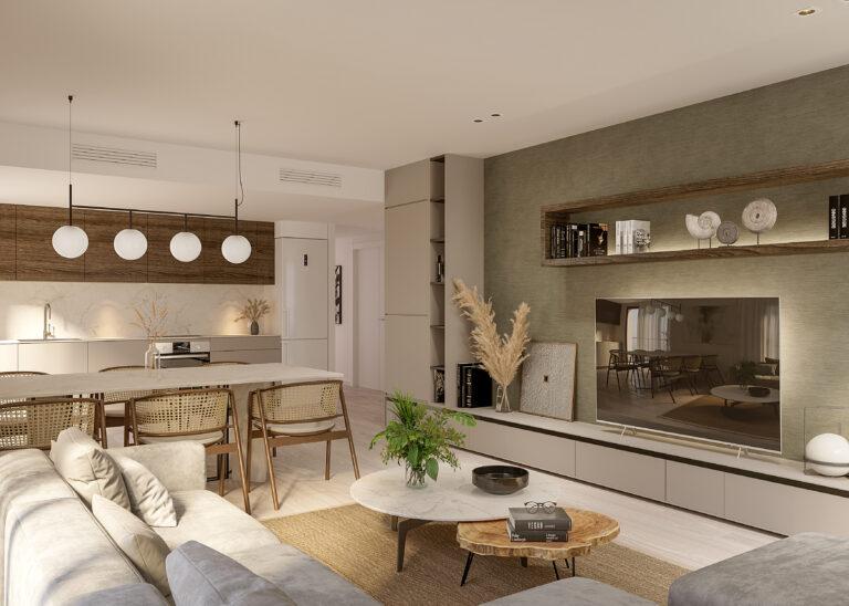 NC1235TW : Новые апартаменты в центре Хавеи