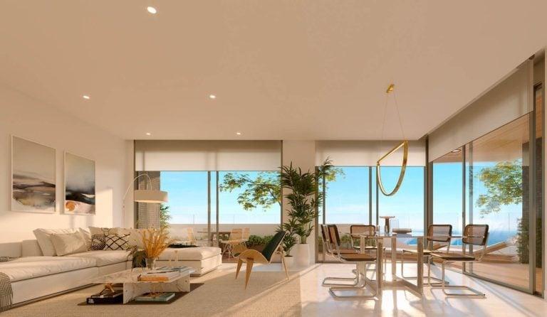 NC1461SO : Квартиры с видом на море в Бенидорме в нескольких метрах от пляжа