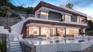Продажа виллы в провинции Costa Blanca North, Испания: 4 спальни, 350 м2, № NC6476GT – фото 1