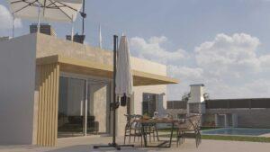 Продажа виллы в провинции Costa Blanca North, Испания: 3 спальни, 100 м2, № NC7655LO – фото 1