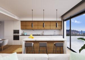 Продажа апартаментов в провинции Costa Blanca North, Испания: 2 спальни, 131 м2, № NC3877CR – фото 2