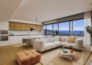 Продажа апартаментов в провинции Costa Blanca North, Испания: 2 спальни, 131 м2, № NC3877CR – фото 3