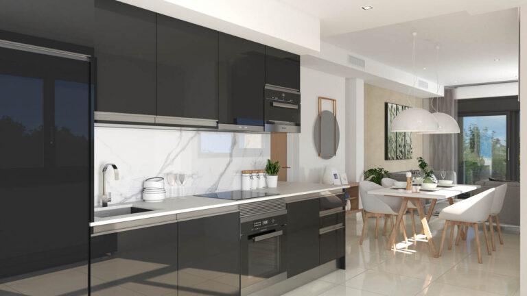 NC2122OB : Новый Комплекс квартир в Сантьяго-де-ла-Рибера