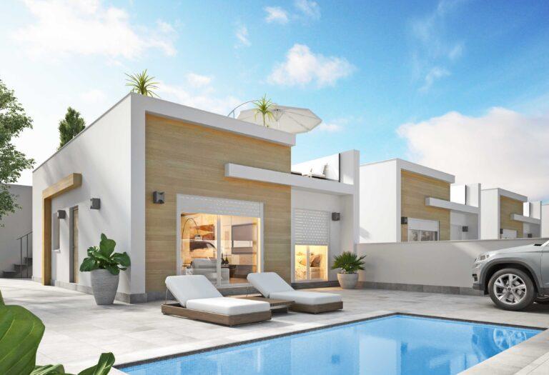 NC4261PC : Виллы в новом жилом районе рядом с Сан-Педро-дель-Пинатар