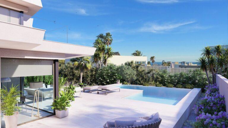 NC3746GH : Красивая вилла с панорамным видом в Кальпе