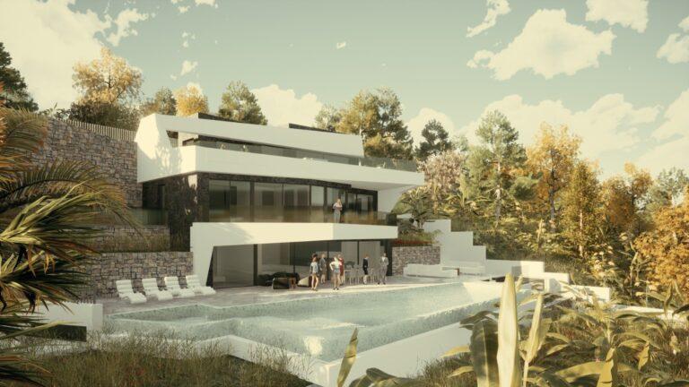 NC4275GT : Вилла новой постройки в Бениссе
