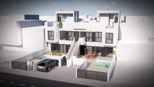 Продажа квартиры в провинции Costa Blanca South, Испания: 2 спальни, 65 м2, № NC2671PC – фото 1