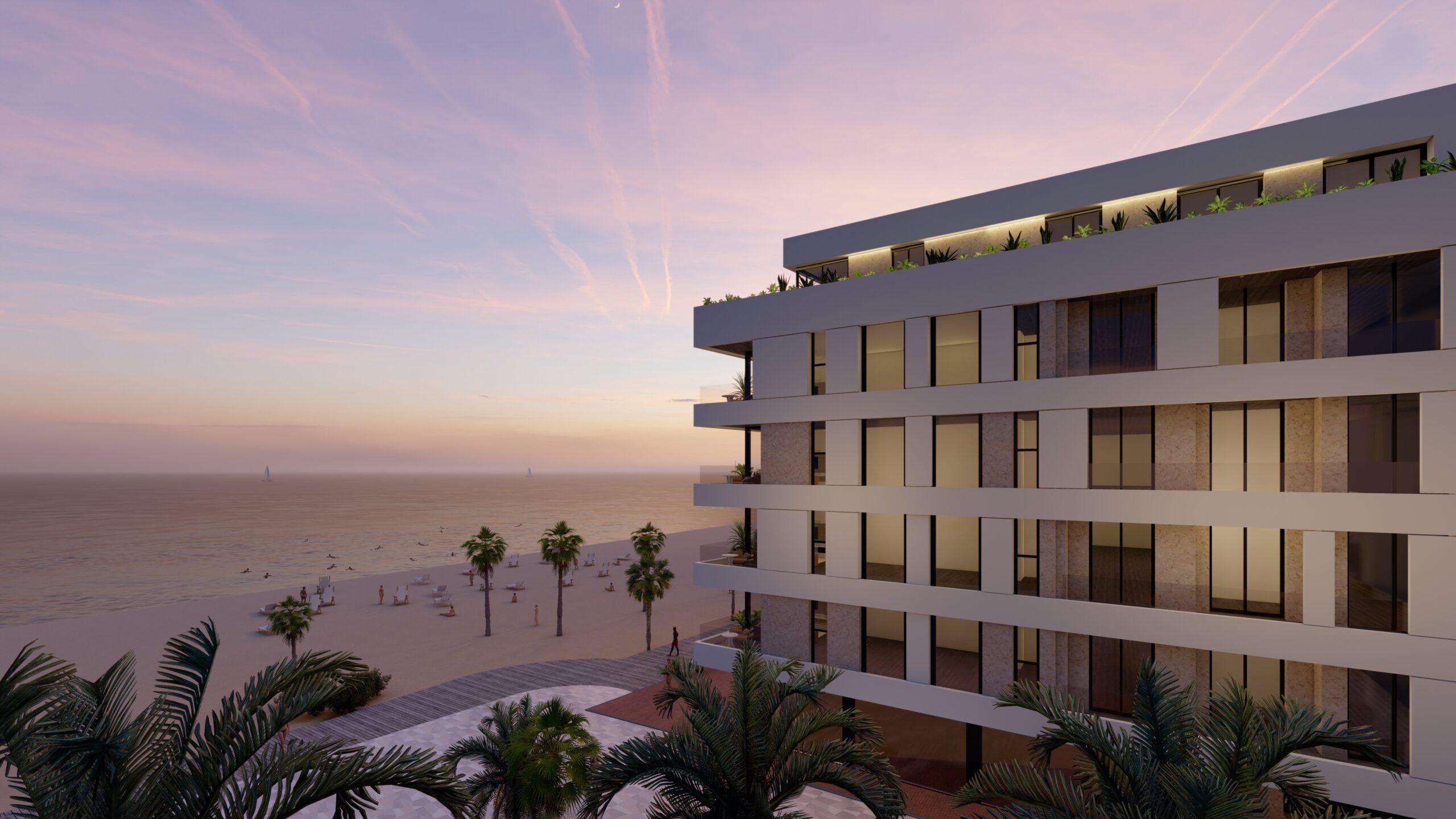 NC1234IM : Современная квартира на первой линии моря