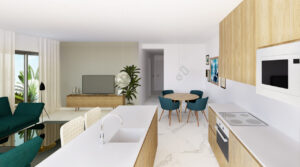 Продажа квартиры в провинции Costa Blanca South, Испания: 3 спальни, 112 м2, № NC1700AM – фото 2