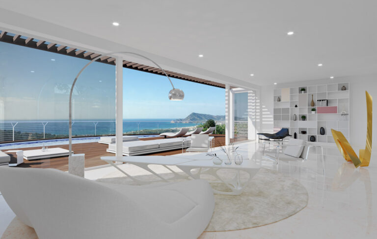 NC2684AL : Дизайнерская вилла с видом на море в Алтее
