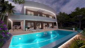 Продажа виллы в провинции Costa Blanca North, Испания: 4 спальни, 450 м2, № NC3745GH – фото 2
