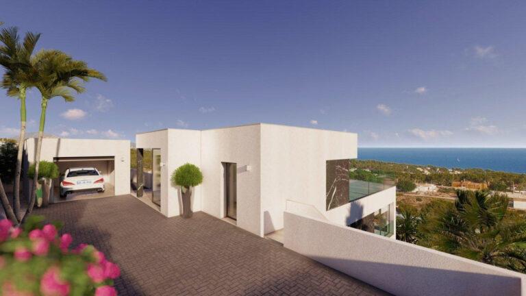 NC3748GH : Роскошная вилла с прекрасным панорамным видом на море в Кальпе