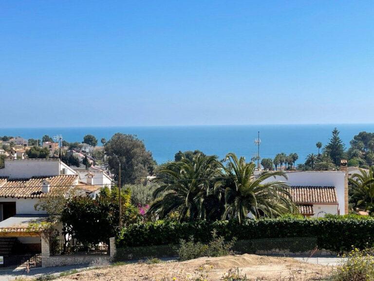 NC3749GH : Замечательная вилла с видом на море в Бениссе