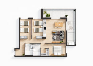 Продажа квартиры в провинции Costa Blanca North, Испания: 2 спальни, 76.71 м2, № NC1235TW – фото 27