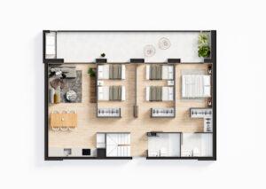 Продажа квартиры в провинции Costa Blanca North, Испания: 2 спальни, 76.71 м2, № NC1235TW – фото 28