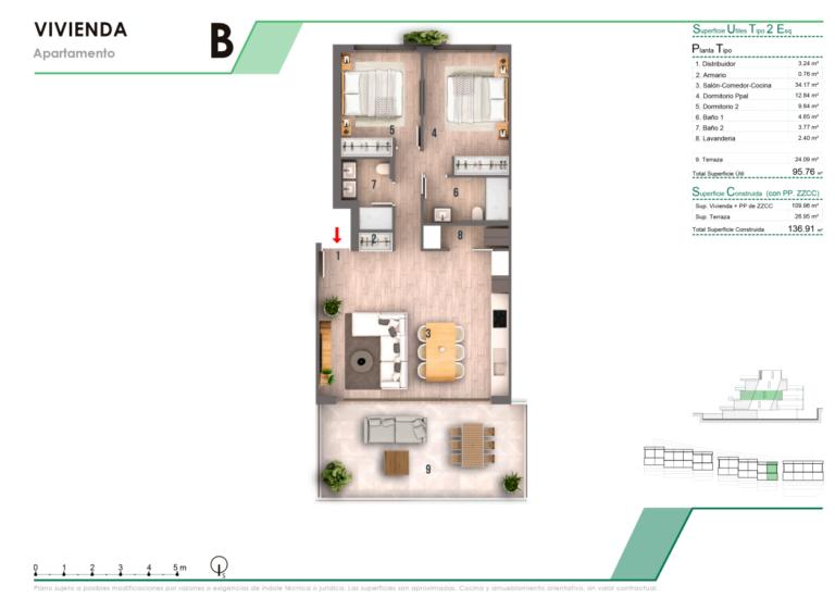 NC3877CR : Великолепная квартира в Финестрате (Бенидорм)