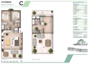 Продажа дуплекса в провинции Costa Blanca North, Испания: 2 спальни, 226 м2, № NC3878CR – фото 9