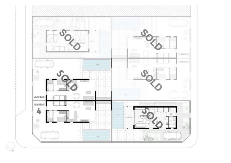 NC3245PC : Двухэтажная вилла в Сан Педро дель Пинатар