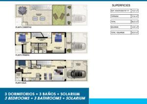 Продажа таунхаус в провинции Costa Blanca South, Испания: 3 спальни, 79.29 м2, № NC1011DB – фото 37