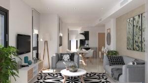 Продажа апартаментов в провинции Costa Calida (Murcia), Испания: 2 спальни, 100 м2, № NC2122OB – фото 1