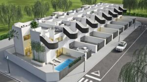 Продажа таунхаус в провинции Costa Calida, Испания: 3 спальни, 105.9 м2, № NC2672PC – фото 15