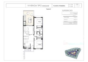 Продажа бунгало в провинции Costa Blanca North, Испания: 2 спальни, 131 м2, № NC3515IM – фото 14