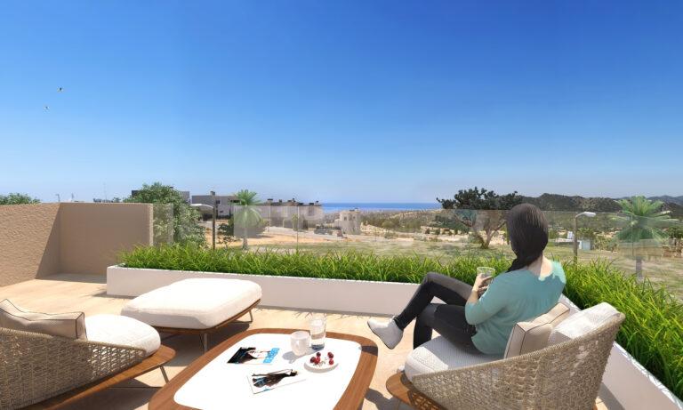 NC6580SH : Вилла с панорамным видом на море и гору Puig Campana в Финестрате, Бенидорм