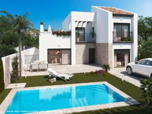 Продажа виллы в провинции Costa Blanca South, Испания: 3 спальни, 104 м2, № NC2527MH – фото 1