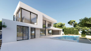 Продажа виллы в провинции Costa Blanca North, Испания: 3 спальни, 476 м2, № NC3647GE – фото 2
