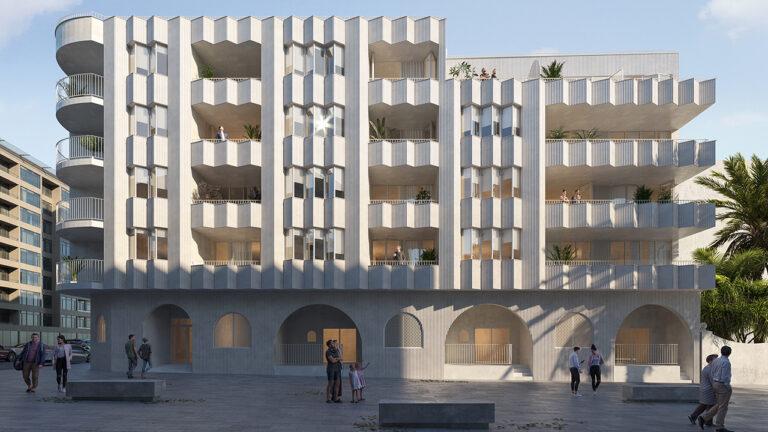 NC1800AM : Великолепные квартиры на первой линии пляжа в Торревьехе