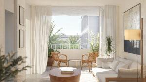 Продажа квартиры в провинции Costa Blanca South, Испания: 2 спальни, 110 м2, № NC1800AM – фото 1